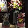 劇場版「世界一初恋 横澤隆史の場合」角川シネマ新宿内のお花とパネル