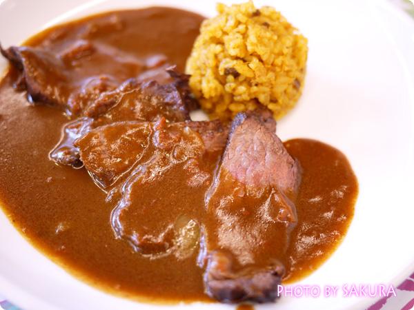 世界一初恋×アニメイトカフェ 小野寺律の手作りカレー 肉アップ