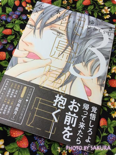 志水ゆき「花鳥風月 (3) 初回限定版小冊子付 (ディアプラス・コミックス)」